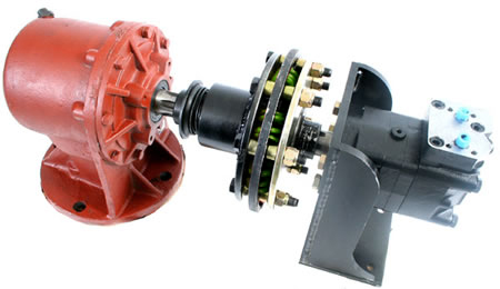 Hydraulic motors bare co Hydraulic motor for brush cutter