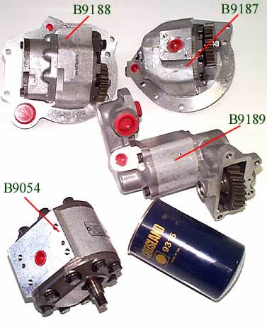 Ford Hydraulic Pumps & Filters - Bare Co