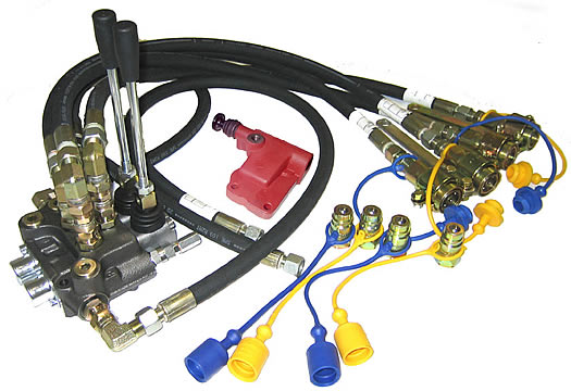 Remote Hydraulics Kits To Suit FORD Bare Co