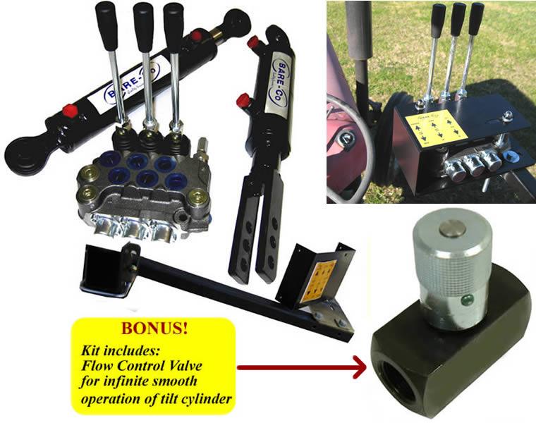 Hydraulic Top Tilt Kits Kubota Bare Co